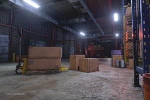 3D Warehouse Game Environment